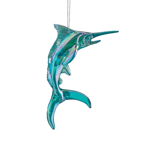 Blue Swordfish Ornament