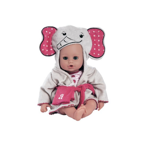 "Bath time Baby - Elephant 13"" - Play Doll by Adora Dolls"