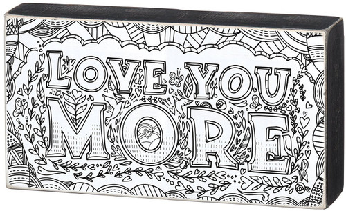 Primitives by Kathy - Color Sign - Love You More