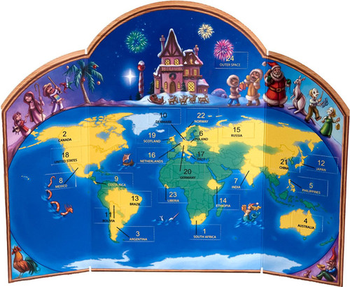 Advent Calendar - Christmas Around the World