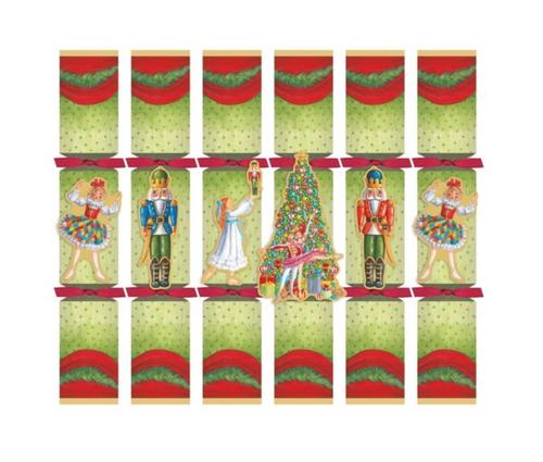 CHRISTMAS BALLET CELEBRATION CRACKERS WITH LUXURY EMBELLISHMENTS