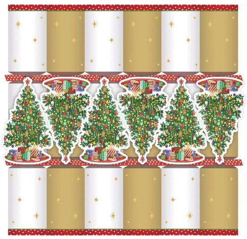 Caspari Celebration Crackers with Luxury Embellishments, 12.5 Inch, Trim a Tree