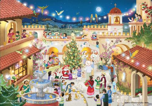 Feliz Navidad Spanish Advent Calendar