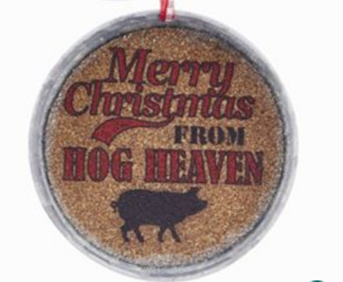 Happy Holidays From The Farm Cork Jar Lid - By Kurt Adler