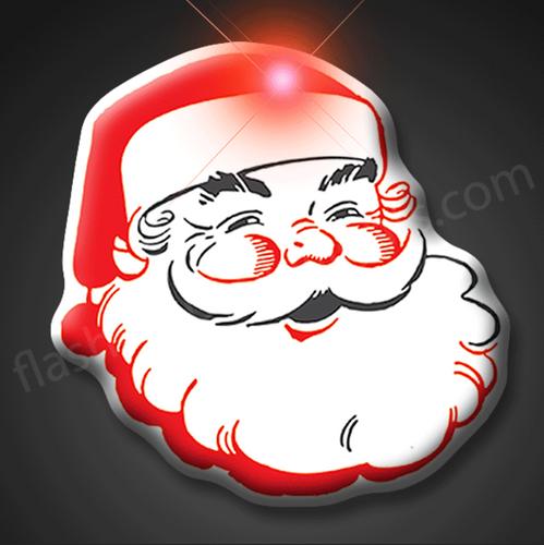 Classic Santa Christmas Pin