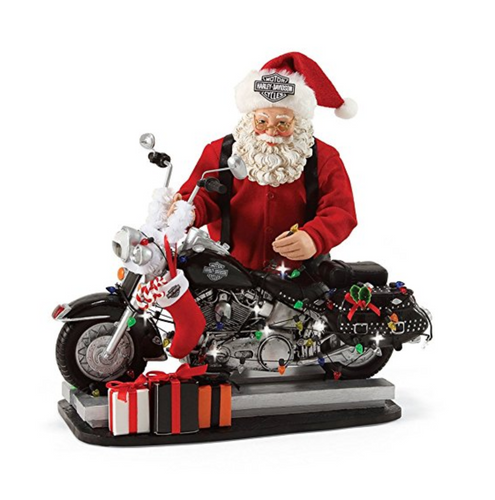 Department 56 Possible Dreams - Light Up The Night Santa Figurine