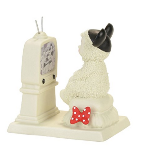 Snowbabies Guest Collection Tuned Into Mickey Figurine