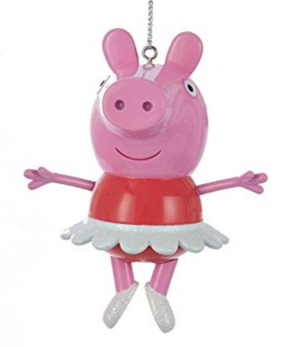 Peppa Pig Ornament with Ballerina Tutu