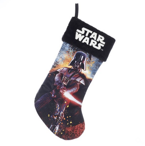 Kurt Adler 19 Inch Star Wars Darth Vader Christmas Stocking