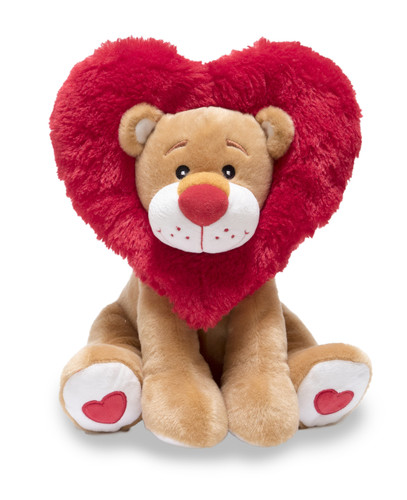Plush Animated Lionheart' Lion (sings Come and Get Your Love)