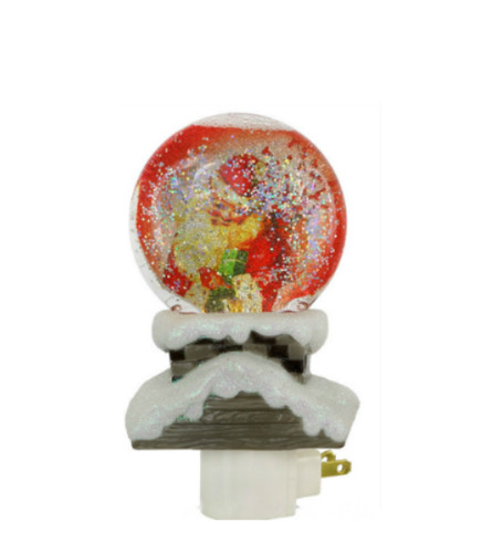 Santa in Chimney Night Light