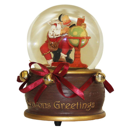 Season's Greeting Music Globe