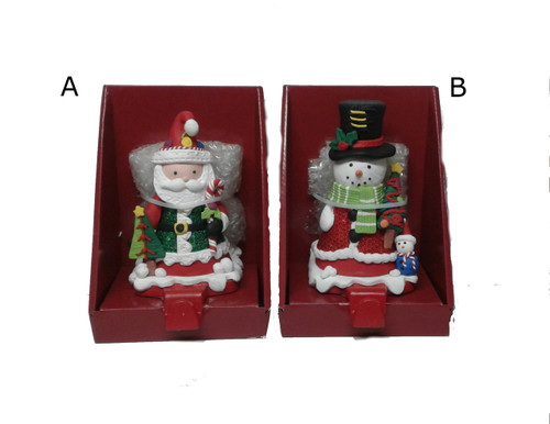 Snowman/ Santa Stocking Holder