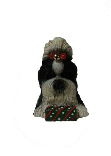 Holiday Shih Tzu Ornament