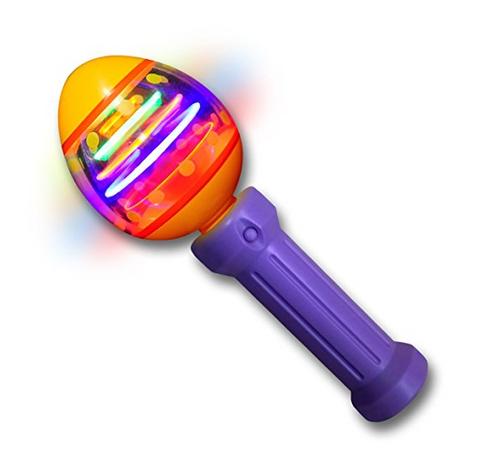 LED Easter Egg Spinning Wand
