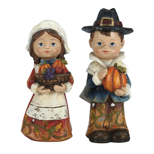 Pilgrim Boy and Girl Set of 2
