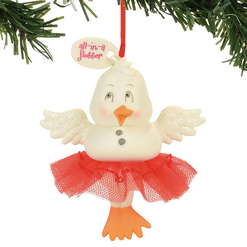 All in a Flutter Duck Snowpinion Ornament