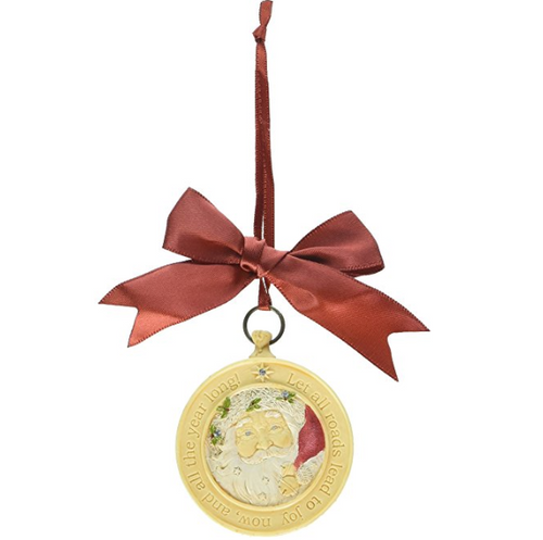 Heart of Christmas - Santa Compass Ornament