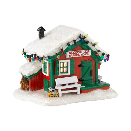 Department 56 - Peanuts Village - Woodstock's Warming House