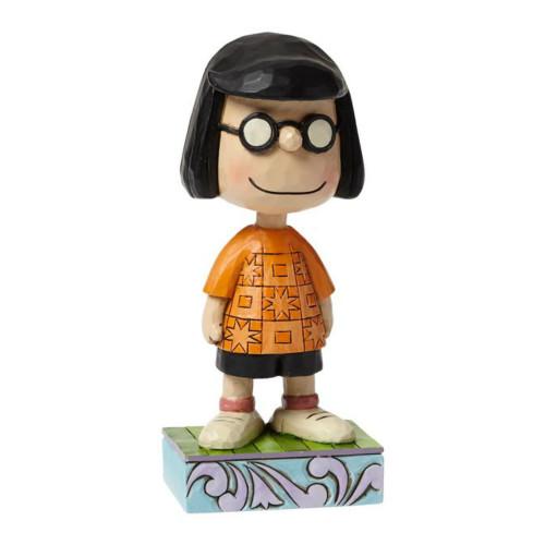 "Jim Shore- Peanuts - ""Modest Marcie"""