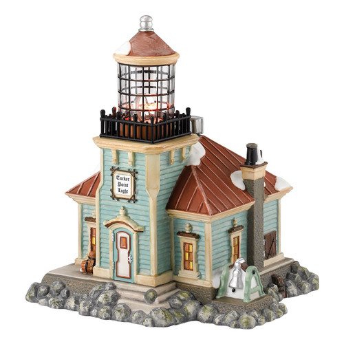 Department 56 - New England Village- Tucker Point Light House