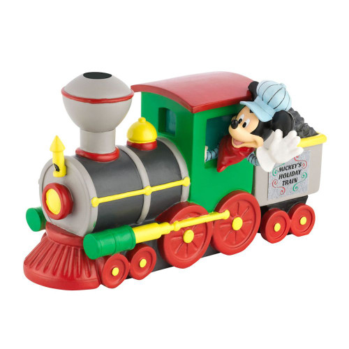 Department 56 - Mickey's Village - Mickey's Holiday Train Engine