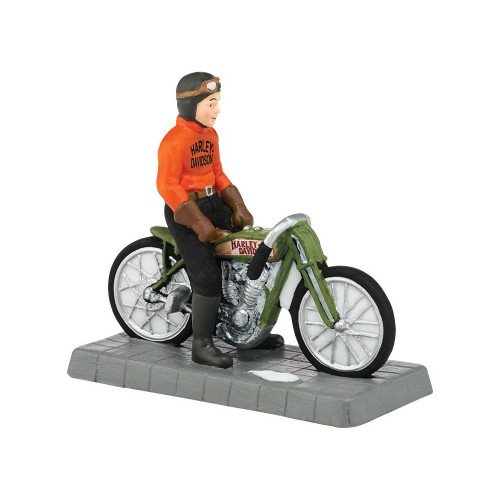 Department 56 - Christmas in the City Village - Otto Walker H-D Champion Accessory