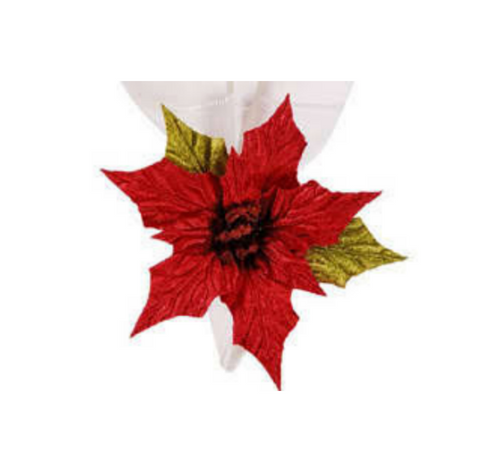 Poinsettia Napkin Ring