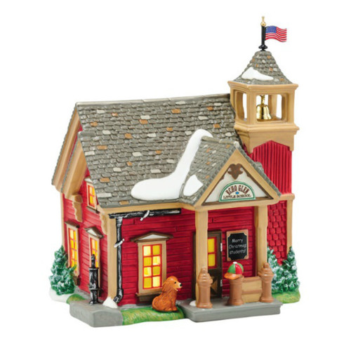 Department 56 - New England Village- Echo Glen School Building