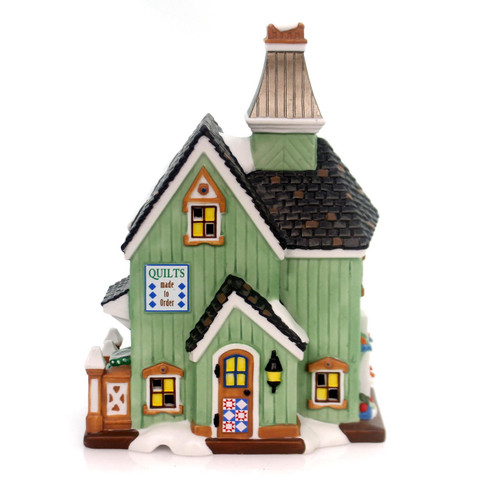 Department 56 - New England Village - Calico Quilts