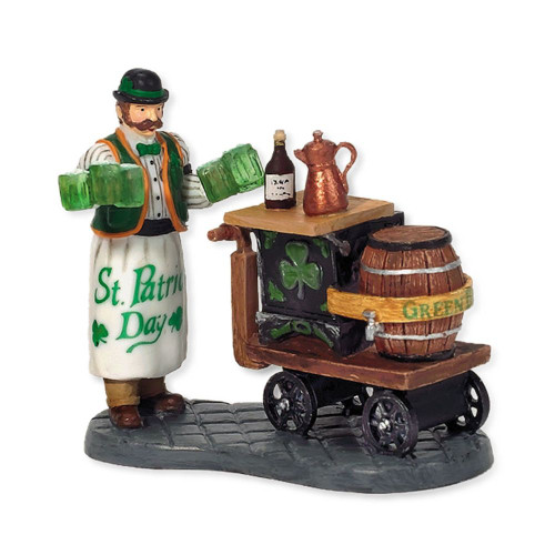 Department 56 - Christmas in the City - Serving Irish Ale