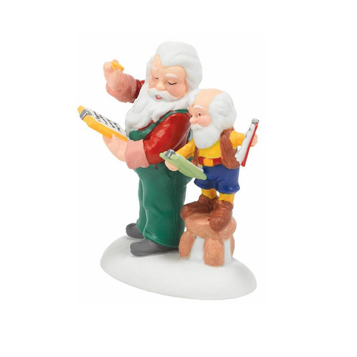 Department 56 - North Pole Village - Check and Double Check Accessory