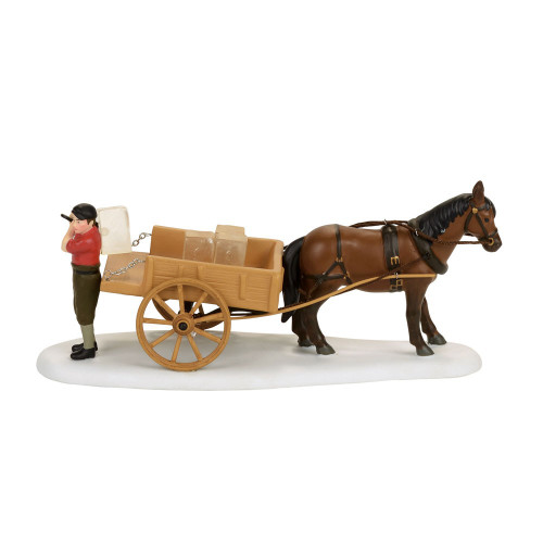 Department 56 - New England Village - Wenham Lake Ice Delivery