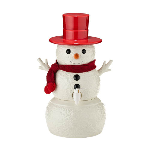 Department 56- Snowpinions Snowman Cider Server