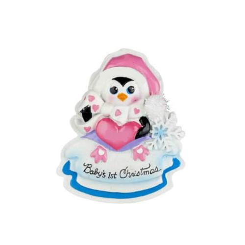 Penguin Baby's 1st Christmas Ornament
