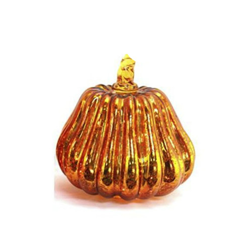 Stony Creek- Lit Glass Pumpkin