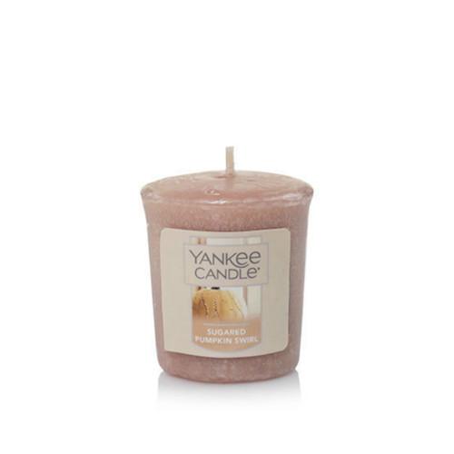 Sugared Pumpkin Swirl Votive™ Yankee Candle