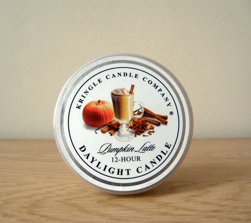 Kringle Candle- Pumpkin Latte Daylight Candle