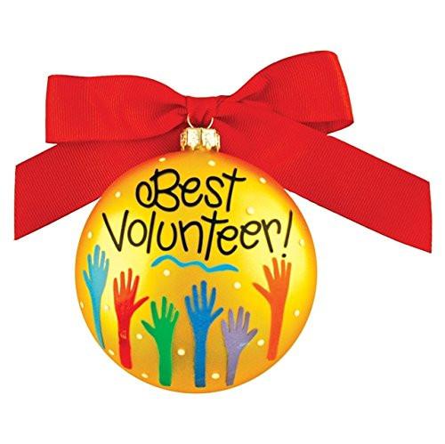 Coton Colors- Best Volunteer! Ornament