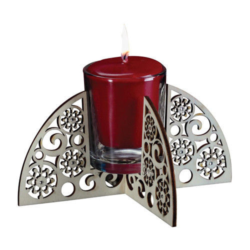 Flourish- Snowflake Votive Candleholder