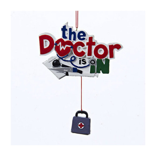 The Doctor Is In Ornament