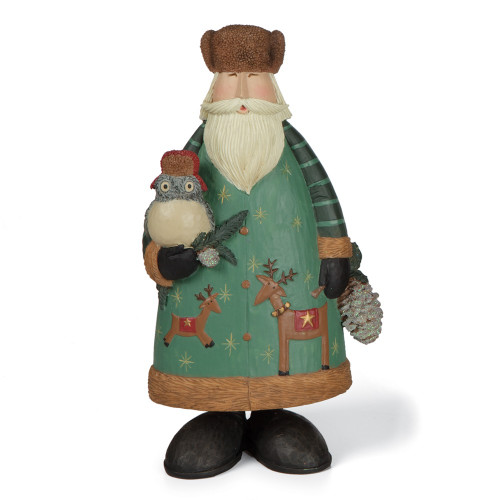 Magical Woodland Santa Figurine