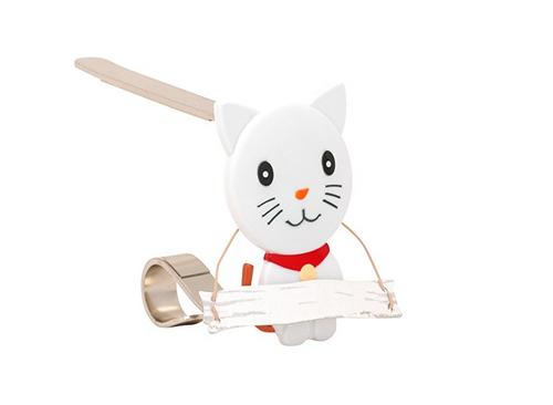 The Original Mantle Clip- Cat Stocking Holder