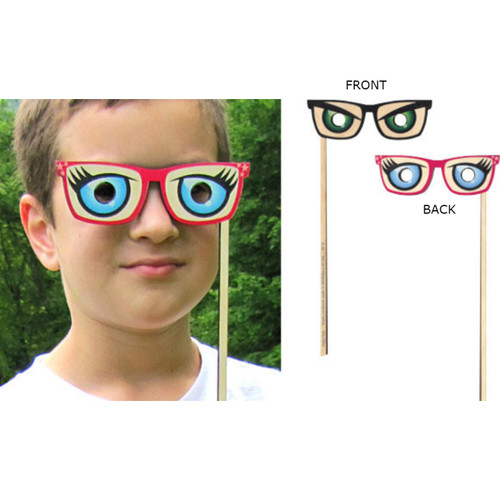 Silly Sticks - Angry/Betty Davis Eyes Photo Prop - Made in USA
