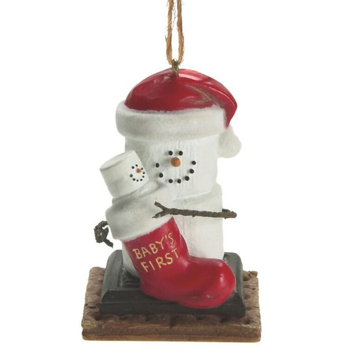 S'mores Baby's 1st Christmas Ornament