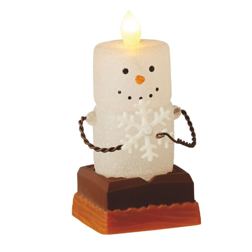 LED Flicker S'mores with Snowflake