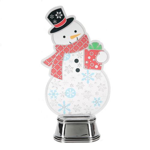 Flashing Snowman Light-Up B/O