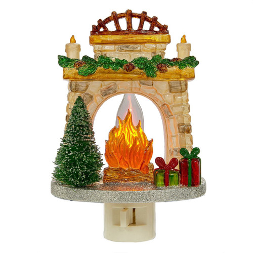 Fireplace Night Light