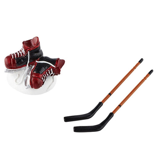 Department 56 - General Village Accessory - Hockey Skates and Sticks