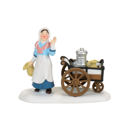 Department 56 - Dickens Village  Accesory- Victorian Milkmaid